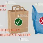 Парламент прийняв за основу обмеження обігу пластикових пакетів