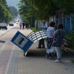 У Чорткові вандали знищили зупинку громадського транспорту