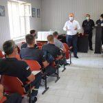 Міський голова Володимир Шматько привітав рятувальників з професійним святом